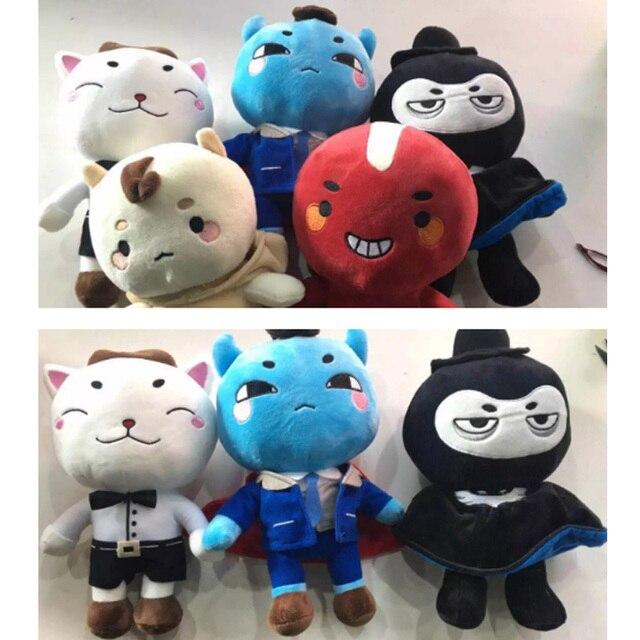 27-31 см Корейские куклы в одиночку и блестящий призраков и призраки Конг Ю с гречневой куклы плюшевые игрушки
