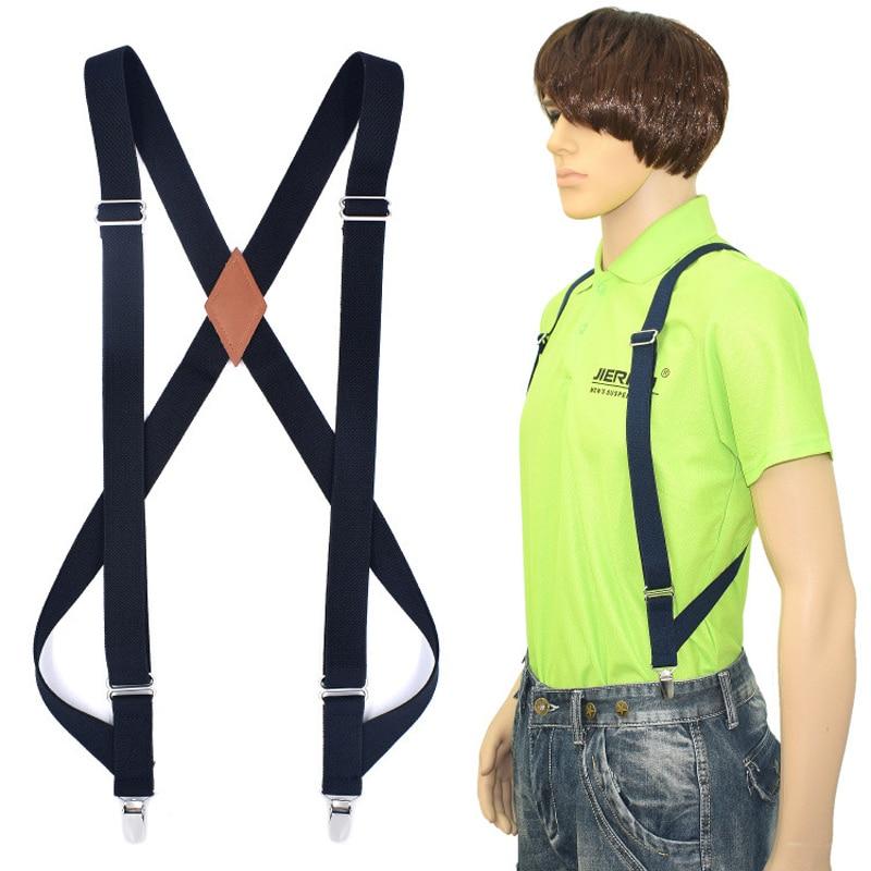 New Men's Suspenders Braces Hunting Suspenders Outdoor Motorcycle Suspenders Strap Adult Suspensorio Tirantes Hombre Bretelles