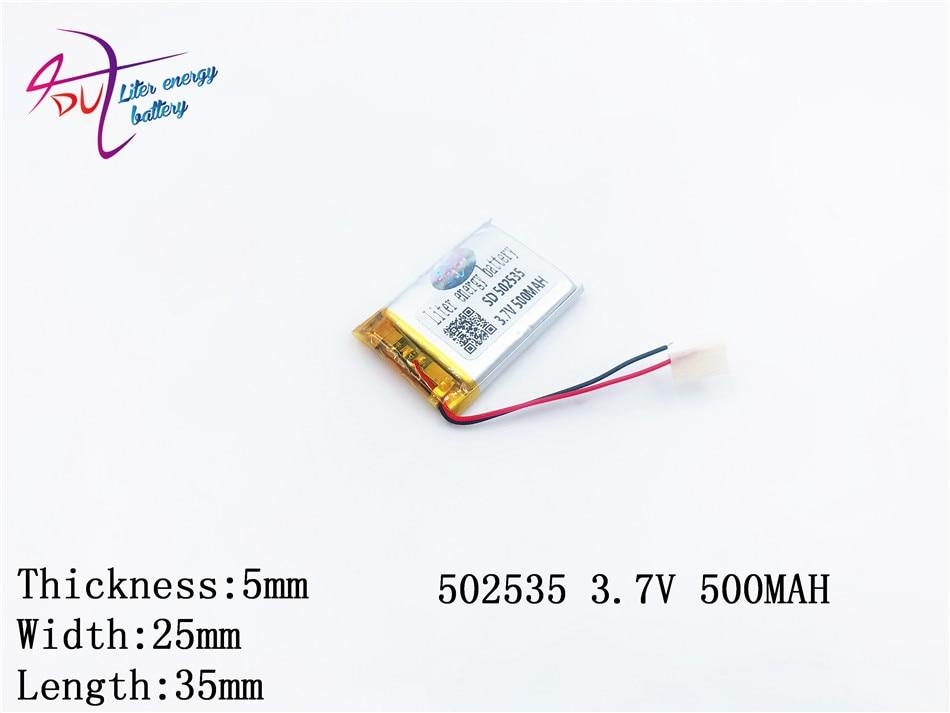 (5 Teile/los) Polymer Lithium-batterie 3,7 V, 502535 052535 500 Mah Ce Fcc Rohs Msds Qualität Zertifizierung Spezieller Kauf