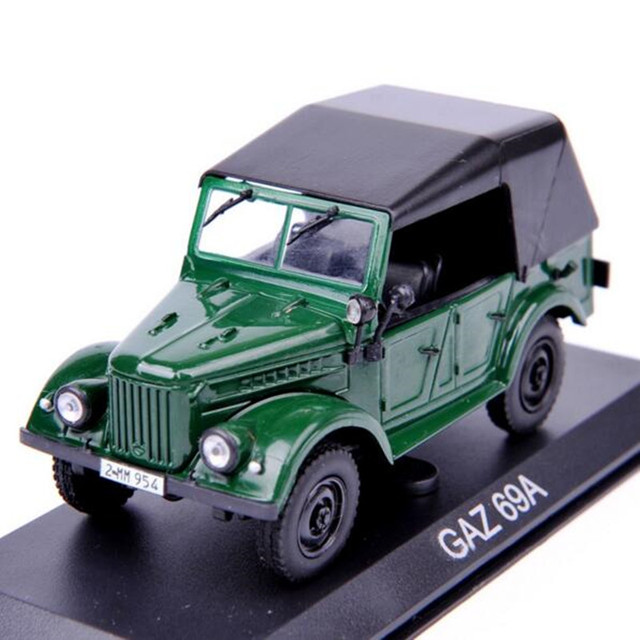 GAZ 69A Model 1:43 Scale Altaya Jeep Diecast Model Car Toys Collection Gift For New Year Christmas