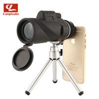 Military HD Monocular 40x60 Powerful Binoculars Zoom Great Handheld Telescope Professional Hunting Scope CL180