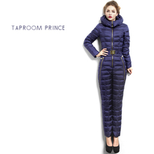 Brand 2016 Winter Jacket Women Down Jackets Parka Coat Jumpsuits & Rompers Slim downs Jackets duck Down Coats Outerwear