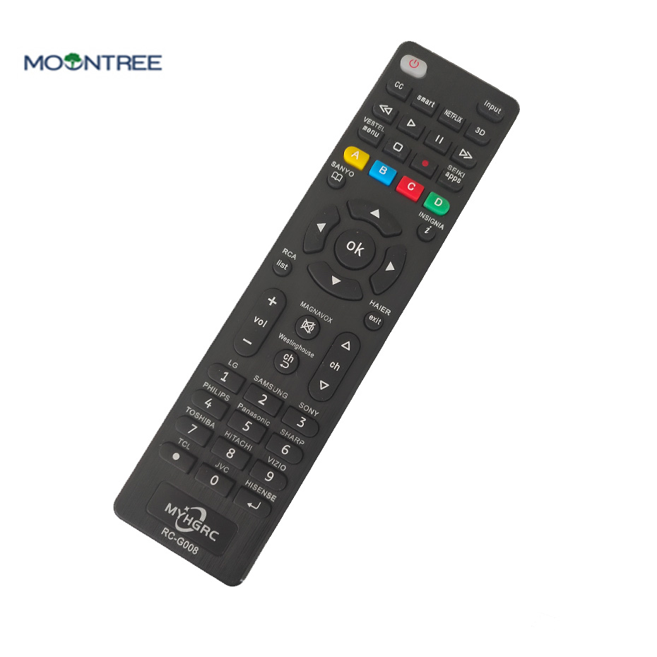 No Setup Required New Replacement Panasonic TV Universal Remote Control for Almost All Panasonic and Smart TV with English User Book