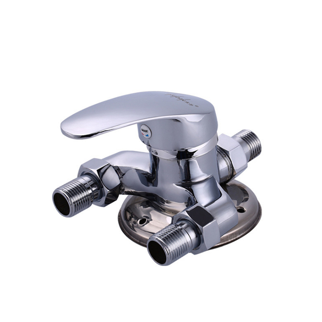 Surface Mounted Shower Faucet Mixing Valve Hot And Cold Taps Solar