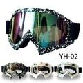 Ventas calientes de La Motocicleta ATV Motocross Gafas Luneta Mask & CS Deporte Gafas YH02