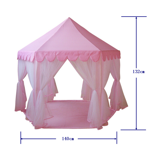 2016 childrenu0027s birthday Shower gifts playground princess play house pink kids girl teepee tents play tents  sc 1 st  AliExpress.com & 2016 childrenu0027s birthday Shower gifts playground princess play ...