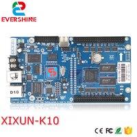 Xixun k10 asychronous rgb 640*480 pixel led controller card for LED module display sending cards