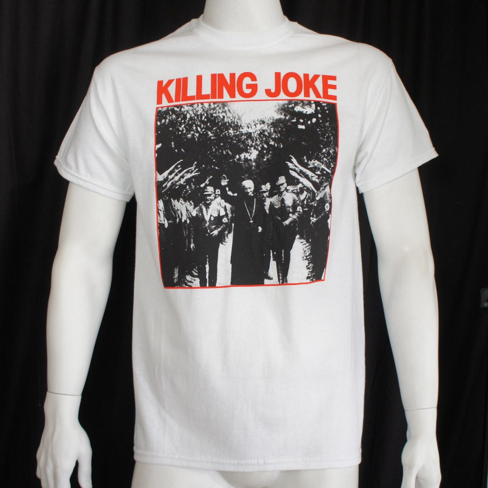 2018 Crossfit T ShirtsAuthentic KILLING JOKE Pope Album Cover T-Shirt S M L XL XXL NEW Crew Neck Regular Short Tee Shirt For Men