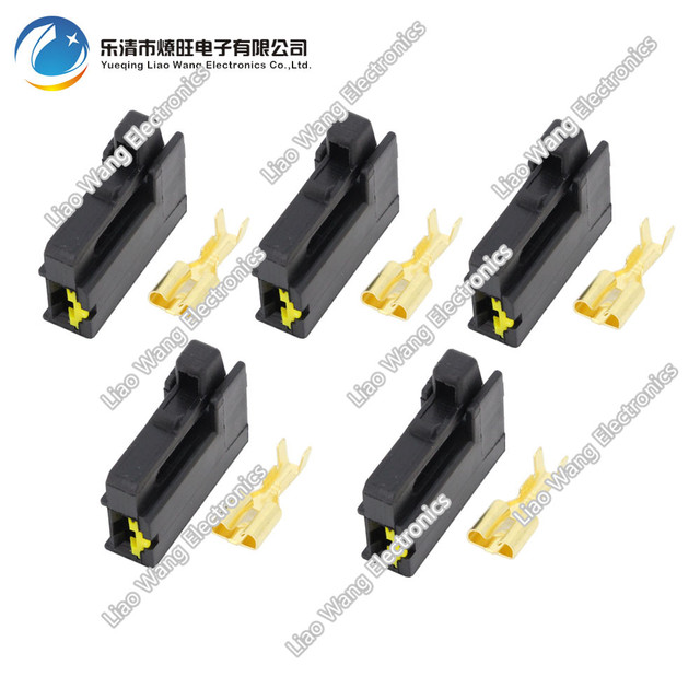 5PCS Automobile horn car connector plug wire harness connector with terminal DJ7018Y 6 3 21_640x640 5pcs automobile horn car connector plug wire harness connector with