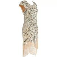 Moda Feminina Sexy Dresses Silver Sequin Dress Vestidos Mujer Vintage Sequin Dress Plus Size Women Clothing