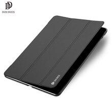 Для iPad 9,7 чехол A1822 DUX DUCIS Роскошный PU кожаный Смарт флип чехол для нового iPad 9,7 дюймов Funda авто сна
