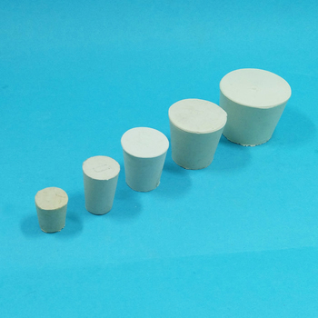 000 #10 # Rubber Stopper Bungs Laboratorium Effen Hole Stop Lab Push-In Afdichting Plug