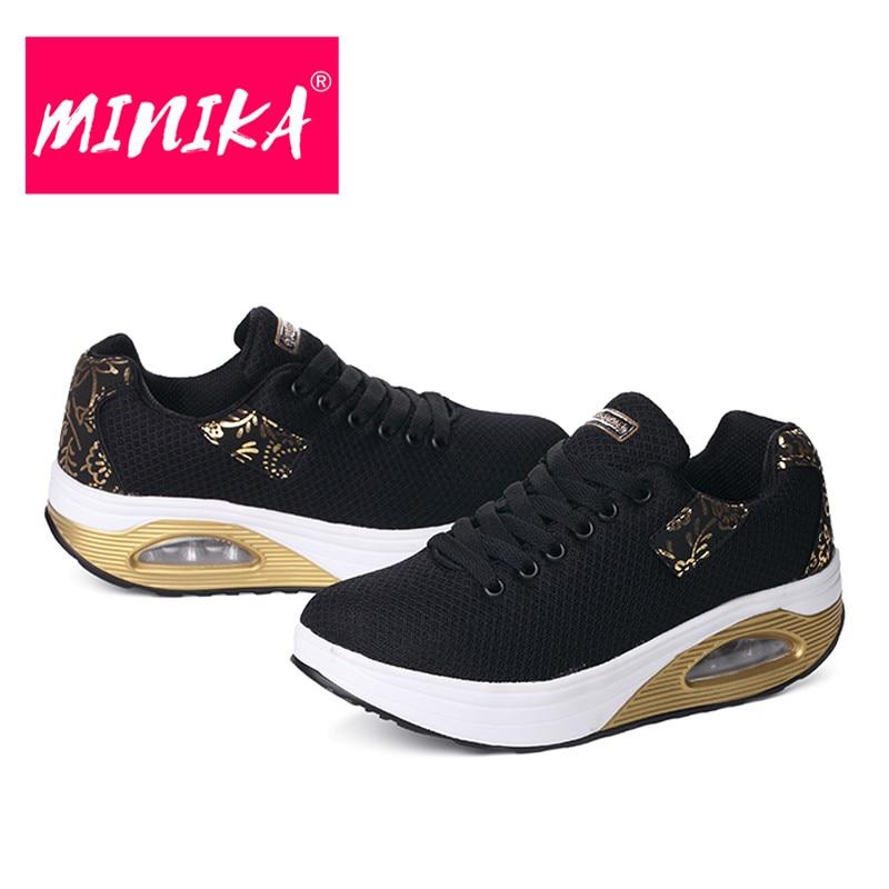MINIKA New Brand Women Flats Schoenen Fashion Bronzing Women Duurzame - Damesschoenen - Foto 5