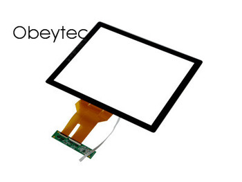obeytec 15inch Projection Capacitive Touch Panel, 16:9, P-CAP, For LCD Display Monitor, High Sensitive