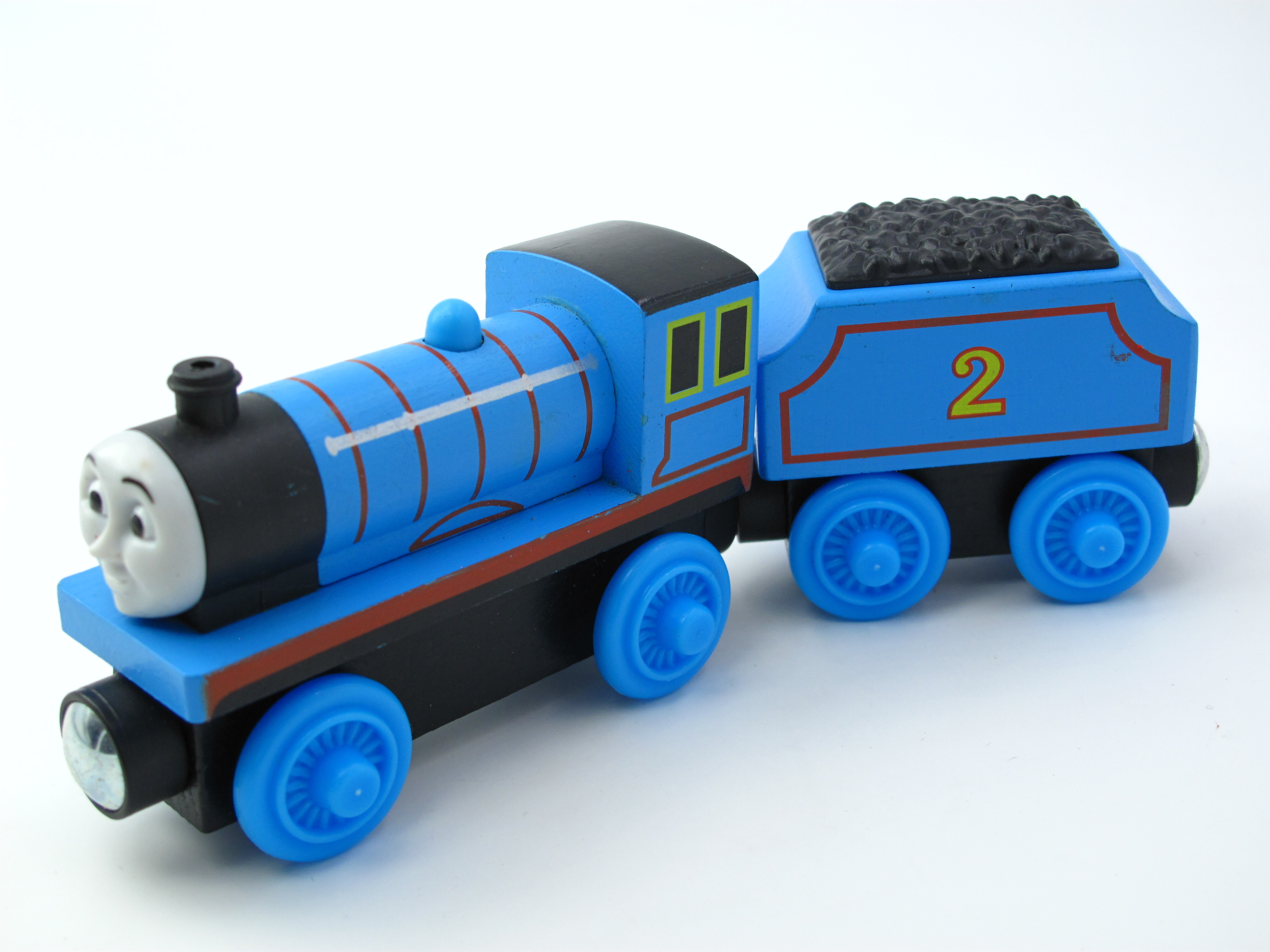 Wooden Thomas Train T048W EDWARD Thomas And Friends Trackmaster Magnetic Tomas Truck Car Locomotive Engine Railway Toys for Boys