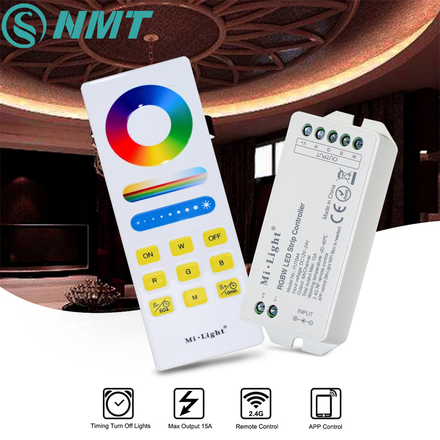 Milight 2.4G WIFI LED Controller RF RGB RGBW RGBCCT and 1pc Wireless Timer LED Remote Controller Set For SMD 5050 3528 LED Strip mi light wifi controller 4x led controller rgbw 2 4g 4 zone rf wireless touching remote control for 5050 3528 led strip