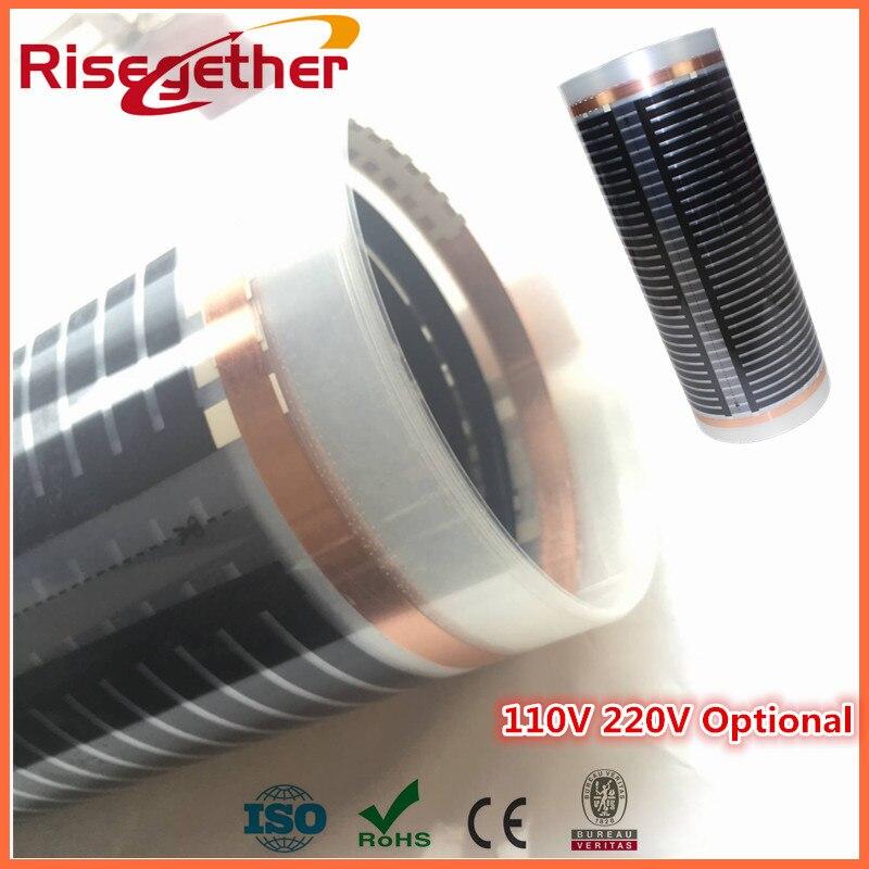 Heating Film Samples 24v 220v Electric Floor Heating Radiant Floor