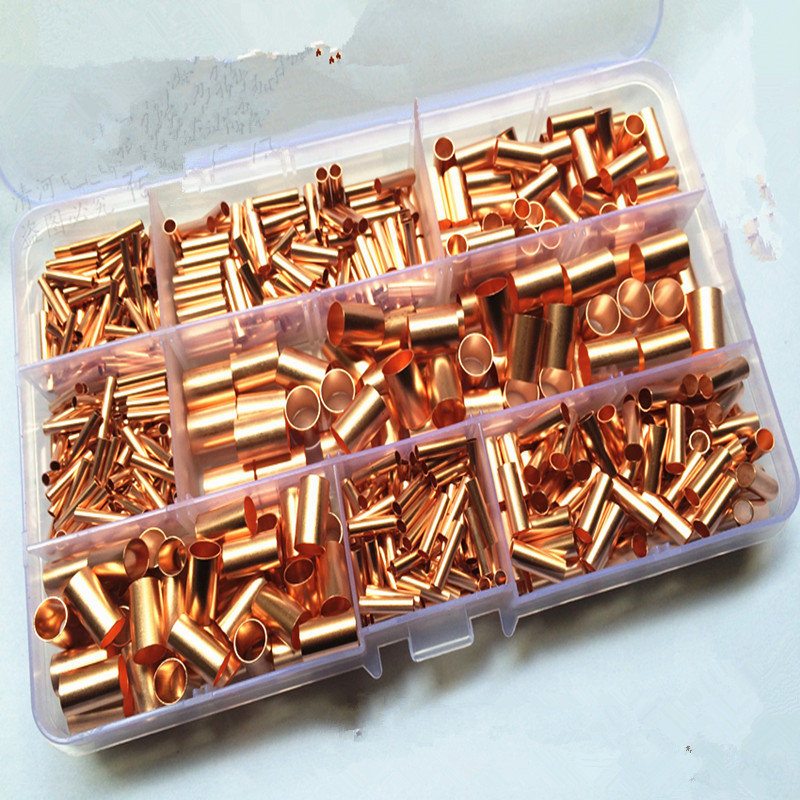 1box Terminal block connector Crimping and line deduction sets of copper electrical maintenance kit nside diameter from 1.5 8mm|connector crimp|terminal block connector|block connector - title=