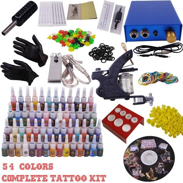 Профессиональный набор тату машины лучшие машины для татуировки цена оборудование для тела машина Перманентный макияж комплект