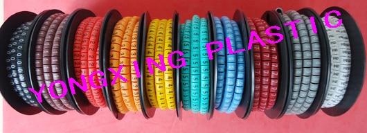 10 рулон(10000шт)/много ЕС-1 2,5 мм кв. марка кабеля 10 разное количество и цвет