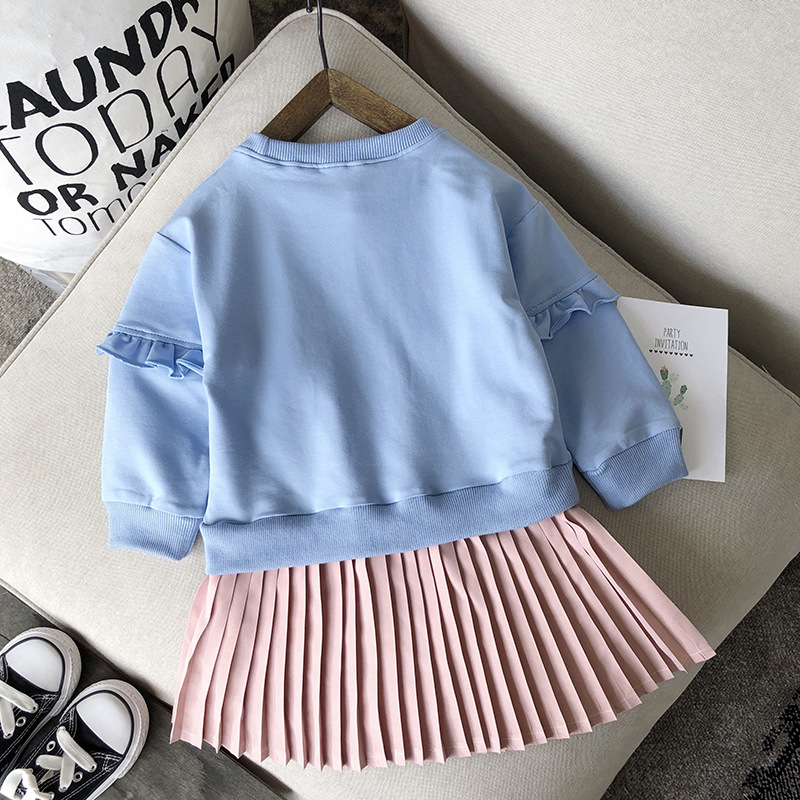 19 Toddler Girl Clothes Winter Autumn Children Clothing High Quality Long Sleeve Kids Clothes For Girls Costume 3 4 5 6 7 Year 10