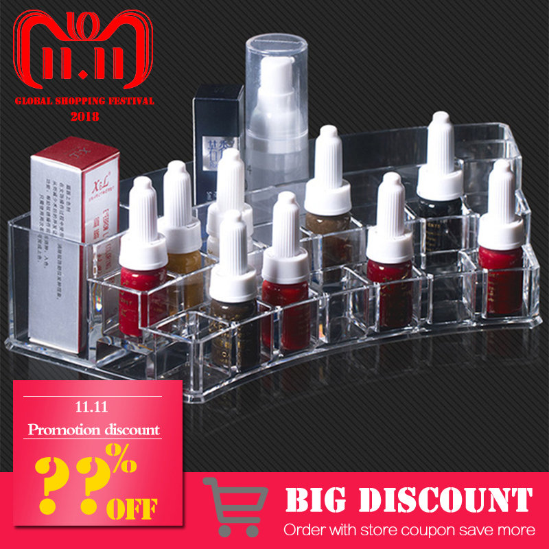 1pcs Acrylic Cosmetic Make up Organizer Makeup Make up Organizer Storage Box Microblading accessories makeup organizer storage box acrylic make up organizer cosmetic organizer makeup storage drawers organiser