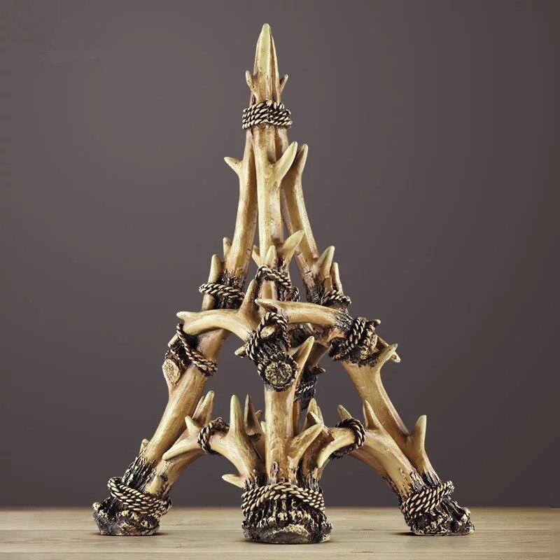 Bois créatifs Paris tour Eiffel décoration porche cave à vin étude décorations pour la maison américain-européen Eiffel