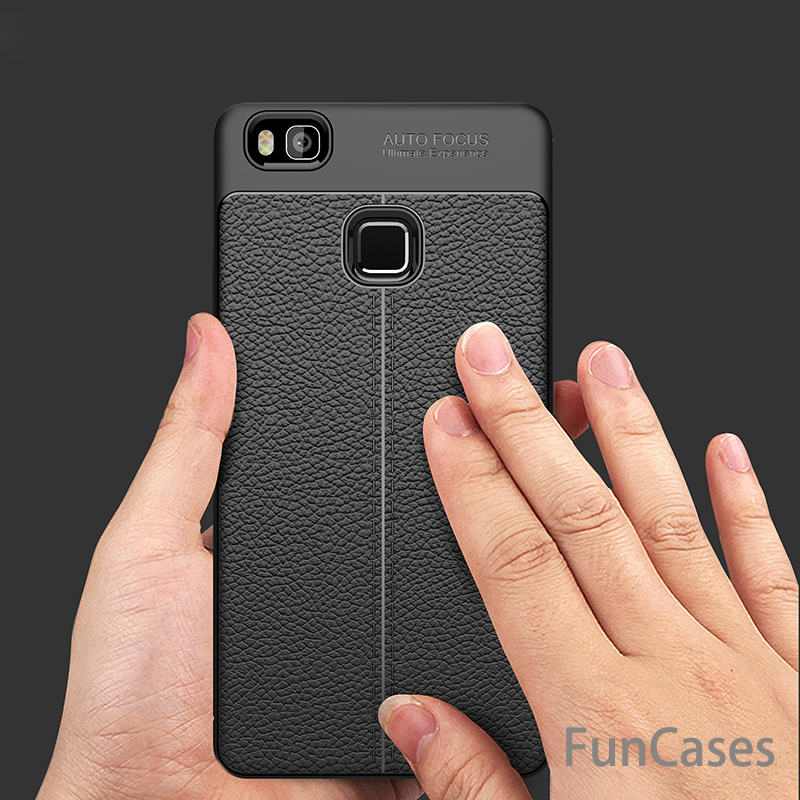Coque For Huawei P9 Lite case Luxury Flip Leather TPU Soft Protective Back Cover For Huawei P9 Lite Phone Case slim bags shell