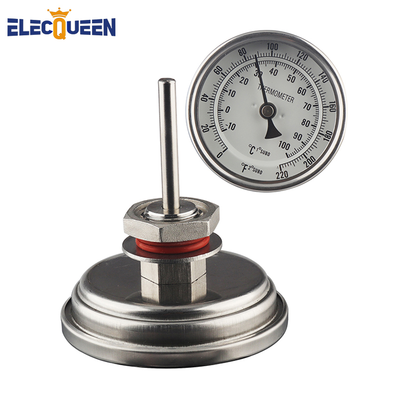 Weldless Bi-metal Thermometer 3