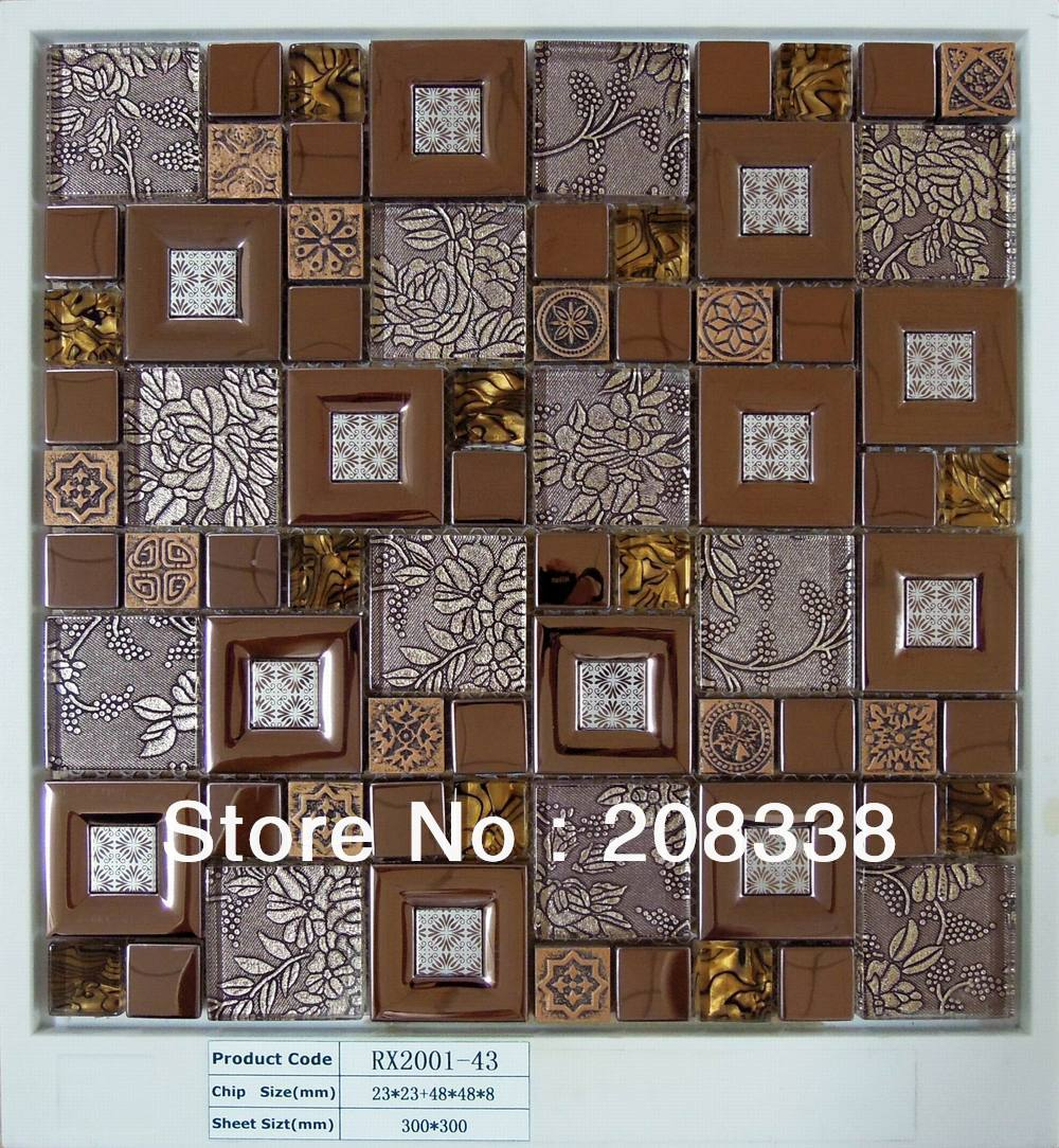 Aliexpress Com Buy Metal Mosaic Tiles Bathroom Mosaic Tiles