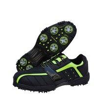 2015 정통 일본 골프 신발 남성 통기성 운동화 미끄럼 야외 남성 신발 뜨거운 판매 top16001