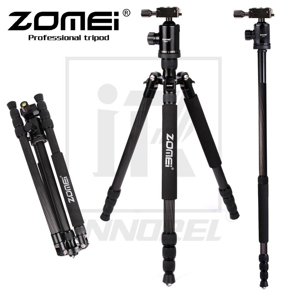 Zomei Z888C Professionnel En Alliage D'aluminium Trépied Kit Manfrotto Z818C Pour DSLR Caméra Cinq Couleurs Disponibles Lumière Compact Portable