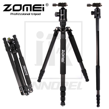 Zomei Z888C Professional Aluminium Alloy Tripod Kit Monopod Z818C For DSLR Camera Five Colors Available Light Compact Portable