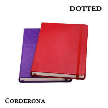 Dot Grid PU Bullet Notebook Dots Travel Diary Dotted Journal Bujo - DISCOUNT ITEM  10% OFF All Category