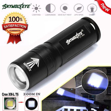 Super Brigh Zoom 3 Modes XML T6 LED Powerful Flashlight Torch 18650 Bike Cycling Bicycle Accessories High Quality Jane 8