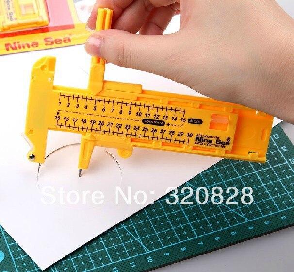 Free shipping diameter circle cutter paper trimmer circular cutting tool1cm-30cm  greeting card making memory scrapbook kits