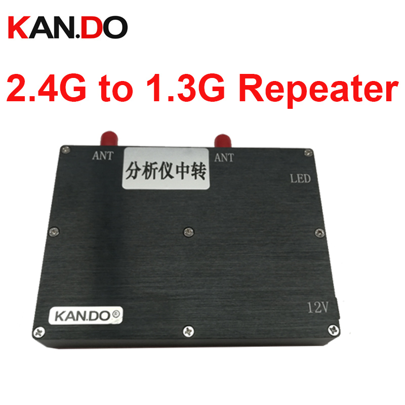 8W CCTV Transfer Server 2.4G To 1.3G Repeater Transmitter Repeater 2.4G Wireless Video Audio Repeater 1.3G Repeater Transmitter