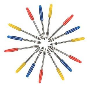 Image 4 - Nowy wysokiej jakości Graphtec CB09 5 ostrze do cięcia cięcia winylu ploter średnica uchwytu: 1mm całkowita długość: 20mm