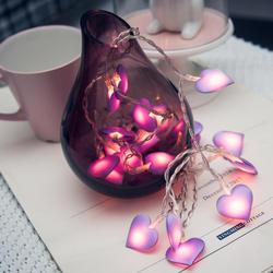 Светодиодный любовь, Сердце, свадьба Строка Фея Света Рождество светодиодный фея розовый девушка Строка Света в помещении вечерние сад