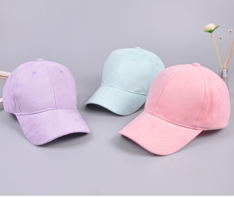 179c81cec US $5.16 40% OFF|oZyc Brand baseball caps women street hat hip hop hats  Suede hats for ladies black gray baseball cap 11colors-in Baseball Caps  from ...