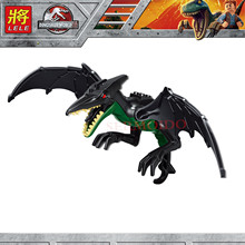 Single Sale Jurassic Dinosaur World Figures Tyrannosaurs Rex Building Blocks Compatible With Legoingly Toys