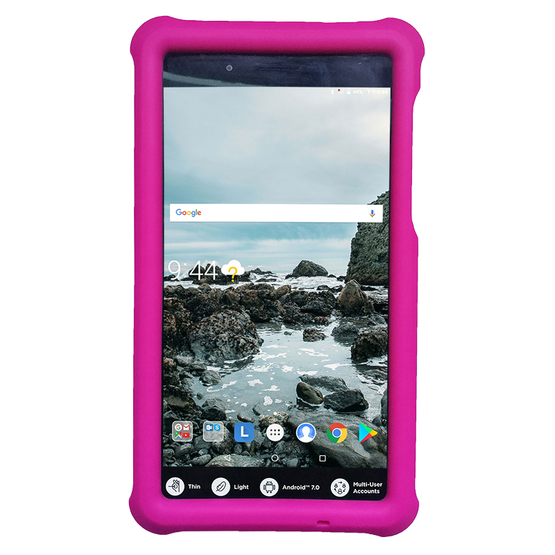 MingShore Tab 4 7 Essential Kids Shockproof Cover Case For Lenovo Tab 7 Essential TB-7304F/I/X/N 7.0 Silicone Rugged Tablet Case