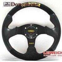 320MM Carbon Fiber Racing Aluminum Frame Light Weight 6 Hole Steering Wheel Modified Jdm Sport