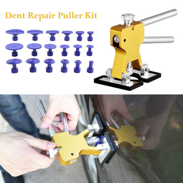 PDR tools Car Repair Tool Car Body Paintless Dent Lifter Repair Tool Puller 18 Tabs Hail Removal Hot Melt Glue Gun