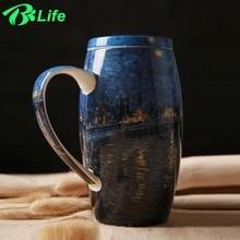 Nette Große Originalität Keramiktassen Hand Malerei Retro Becher Kaffee Milch Tee Tasse Wasserflasche Drink Geschenk