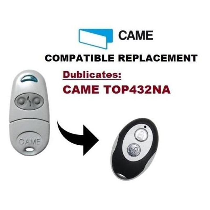 CAME TOP 432NA 2 Button Garage Door Remote Copy/Duplicator 2pcs rib sun t433 2ch 4ch 4 button garage door hand remote key copy duplicator fixed code