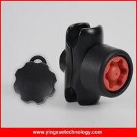 Doble corto Perilla Perilla de Bloqueo de Seguridad Del Brazo Conector con Pin y Clave para 1 Pulgadas Bola de Bases