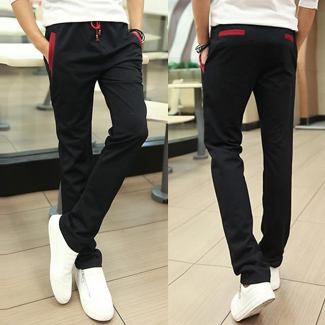Pantalones de los hombres Nuevo estilo de Pantalones de Chándal Para Hombre Baggy cal Pantalones Hombre Pantalones hombre Pantalones 5 colores Más El tamaño 4XL 5XL