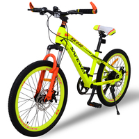High Quality Export Youth7 Speed MTB Bike Double Disc Brake Street Mountain Bike Cycling Child S