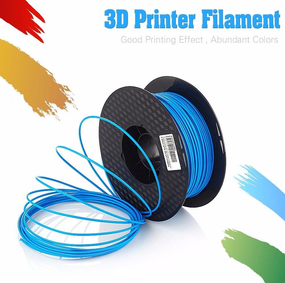 Top Qualité Marque 3D Imprimante Filament 1.75 1 kg PLA ABS Bois TPU PetG PP PC En Métal En Plastique Filament Matériaux pour RepRap uv résine